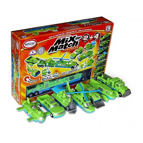 Popular Playthings Mix Or Match Vehicles 2 + 4