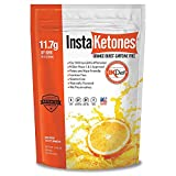 InstaKetones® Orange Burst 11.7g BHB Per Scoop (Caffeine Free) (30 Servings) Exogenous Ketones