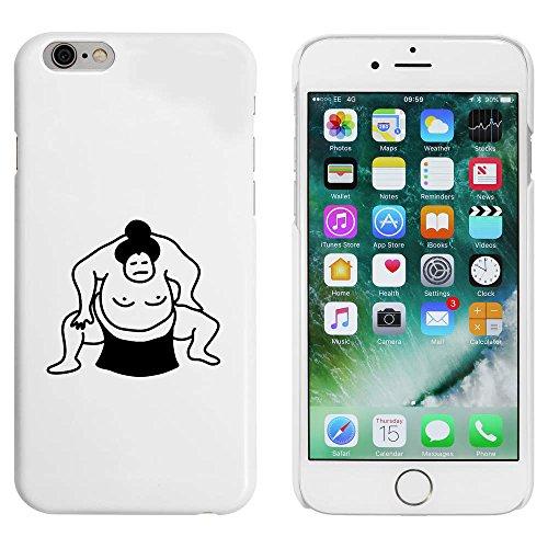 Blanc 'Lutteur de Sumo' étui / housse pour iPhone 6 & 6s (MC00086161)