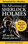 The Adventures of Sherlock Holmes (Complete, Illustrated Classic Edition for eReaders)