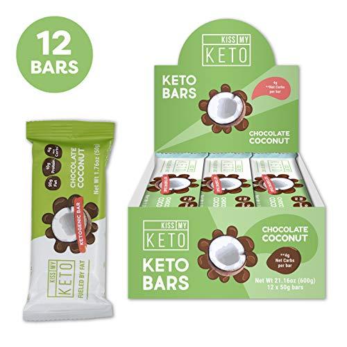 New! Kiss My Keto Snacks Keto Bars - Keto...