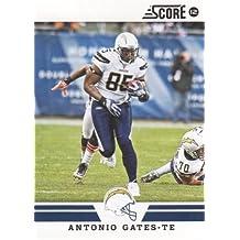 2012 Score #225 Antonio Gates Card