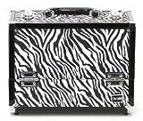 Caboodles Crave Makeup Train Case (Zebra Print)
