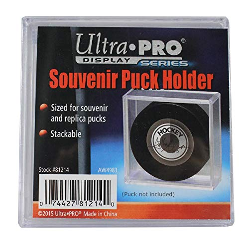 Ultra Pro Square Acrylic Puck Case (Steiner Sports Puck Case)