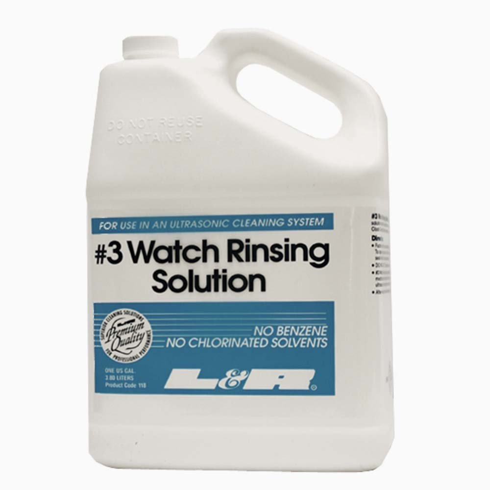 L & R #3 Watch Rinsing Solution 1 Gallon by L&R