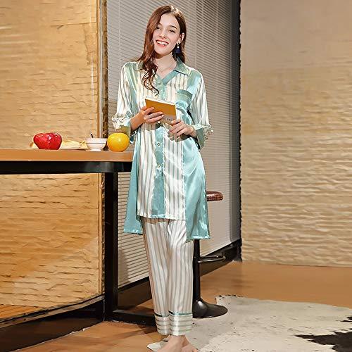 C Servicio Para Hogar Sling Vestido Gran Tamaño Largo Camisón Sexy Las Noche Satén Pijamas Interior Negligee El Ropa De Con Mujeres Párrafo Bebé qAaUwxBqZ