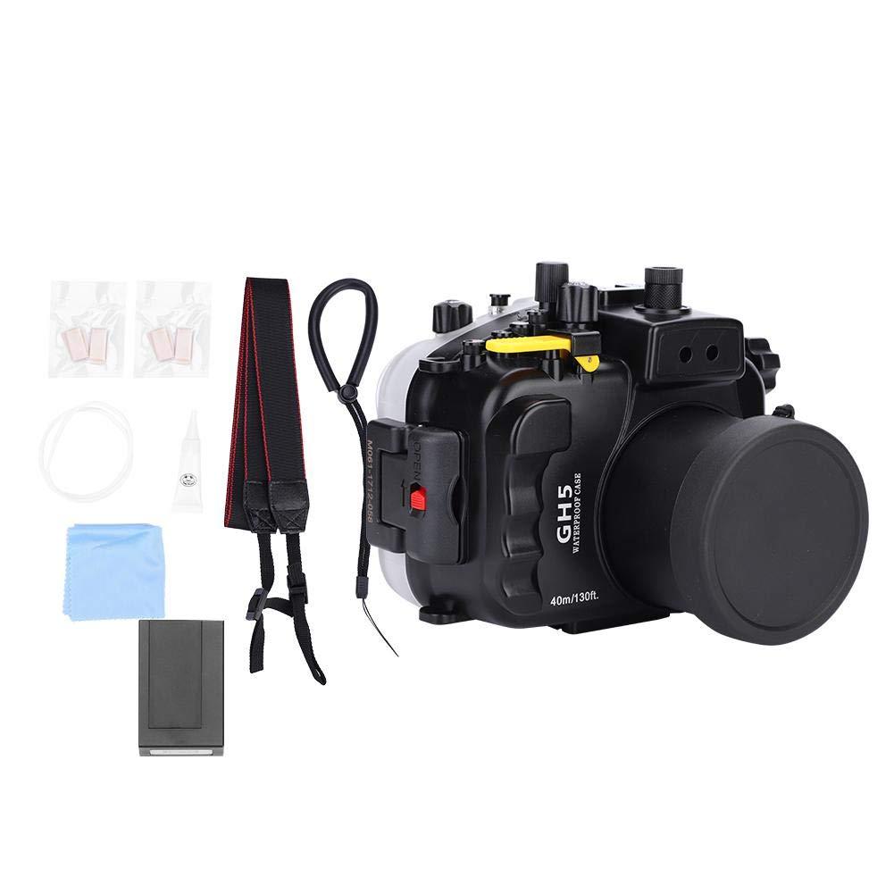 Eboxer キヤノン 防水ケース Canon防水ケース 40メートル 130フィート水中防水ダイビングシェル パナソニックGH5カメラに適しています   B07LD7NHHJ