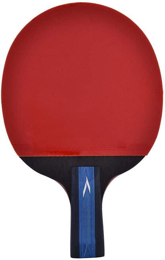 Delaman Raqueta de Tenis de Mesa, Ping Pong Bat Raqueta de Tenis de Mesa portátil con Bolsa Accesorio Deportivo 1PC