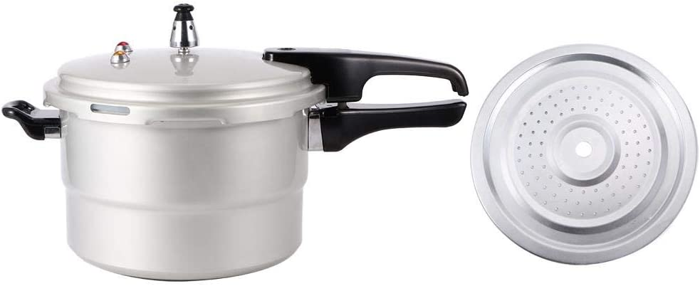 Pressure Cooking Pot, Heat-resistant Pressure-cooker, Kitchen Electric Ceramic Stove for Gas Stove Home(22cm (gas, gas))