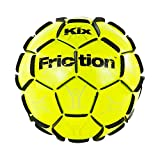 The KixFriction Soccer Ball - #1 Selling Soccer Training Ball (Yellow, Size 4) Awesome Street Soccer Ball - Marvel of Design & Craftsmanship