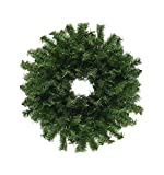 "Darice 30"" Traditional Green Canadian Pine Artificial Christmas Wreath - Unlit"