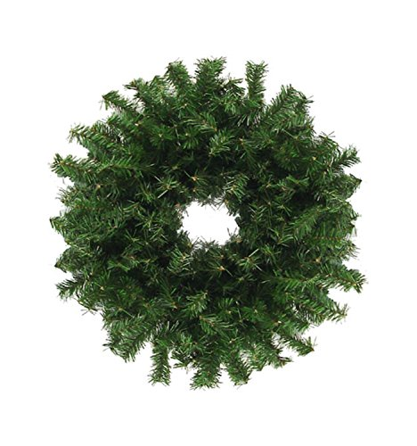 Traditional Canadian Artificial Christmas Wreath