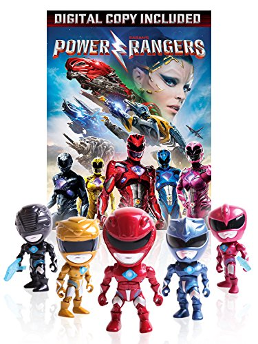 Power Rangers Morphin Power Send someone about his: Digital Movie Download + Collectible Action Figures (Amazon Exclusive)