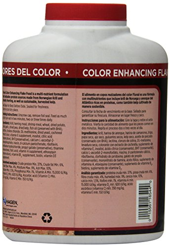 Picture of 140gm Fluval Color Enhancing Flakes Fish Food, 4.94-Ounce