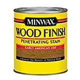 Minwax 223004444 Wood Finish Penetrating Interior Wood Stain, 1/2 pint, Early American