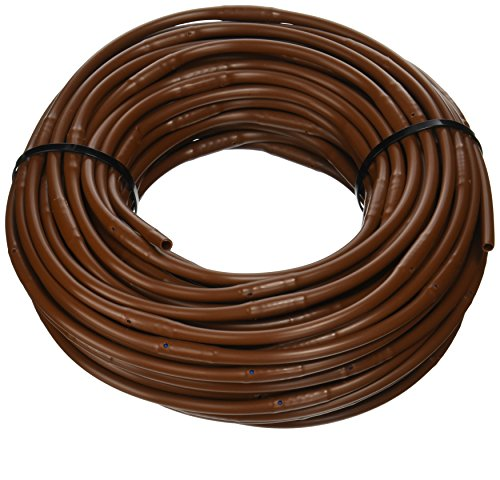 Line Drip (DIG SHB106 1/4-Inch x 100-Feet Dripline with 6-Inch Emitter Spacing (Brown))