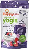 Happy Yogis Organic Yogurt Snacks for Babies and Toddlers, Mixed Berry, 1-Ounce Pouches (Pack of  8) image