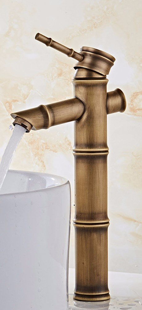 19 Hlluya Professional Sink Mixer Tap Kitchen Faucet Copper, hot and cold water, washing your face 6