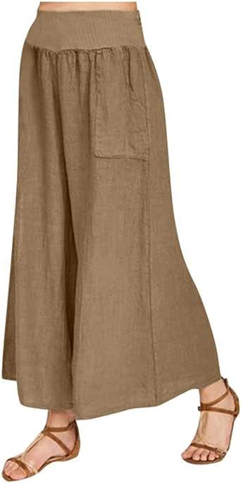 Pantalones de mujer de talla grande, estilo hippie, estilo ...