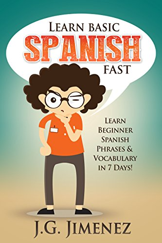 Spanish Learn Beginner Phrases Vocabulary ebook product image