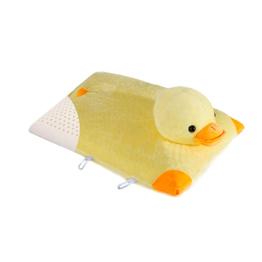 WTGG-Home Textile Children's Latex Pillow Thailand Imported Natural Latex Baby Cartoon Animal Pillow Duck /&