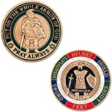 Armor of God Challenge Coin - Antique Gold - Collector's Medallion - Jewelry Quality by Symbol Arts