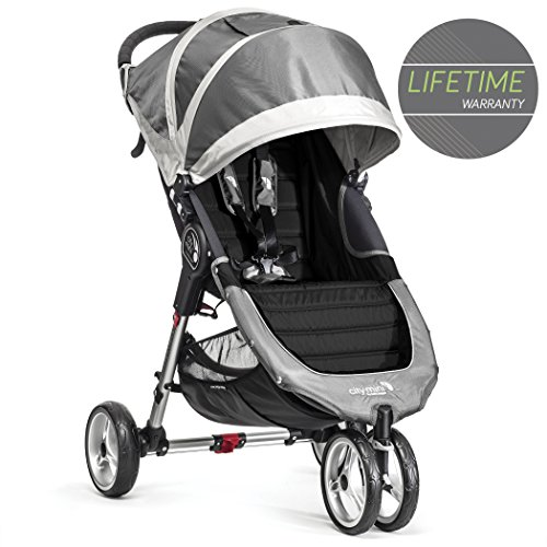 Baby Jogger City Mini Single Stroller Steel Grey