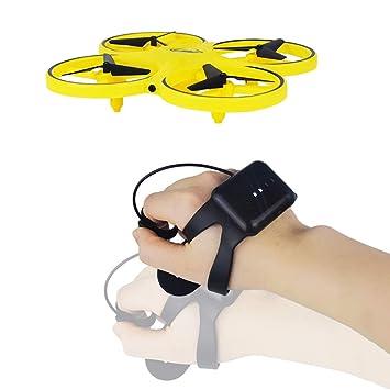 KASIQIWA Dron de inducción interactiva Juguetes Reloj Inteligente ...