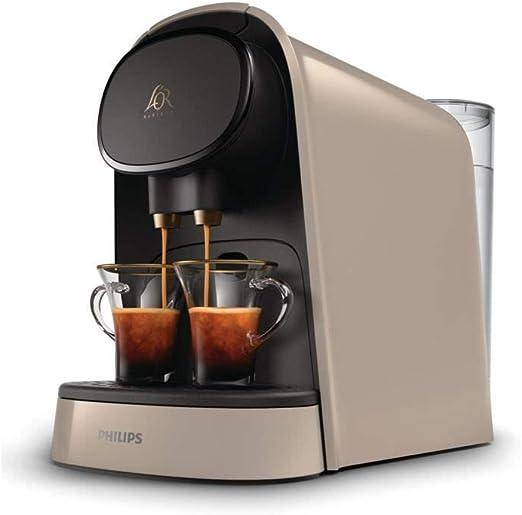 PHILIPS LOR Barista LM8012 / 10 M�quina de c�psulas de caf� - Beige sedoso: Amazon.es: Hogar