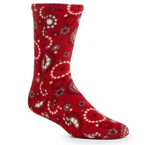 Acorn Unisex VersaFit Socks - Red Dots - X-Small