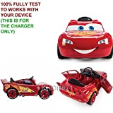 KHOI1971 WALL charger AC adapter for RED YELLOW-TRIM BLACK-SEAT 17327 HUFFY Disney Pixar Cars 3 Lightning McQueen ride on