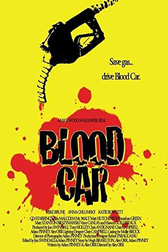 Blood Car Advertisement Movie 27x40 Mike Brune Anna Chlumsky Katie Rowlett