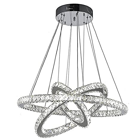 Lightinthebox Dimmable Led K9 Crystal Chandelier Lighting Lamps