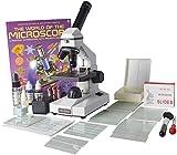OM116L-XSP2 - 40x-400x - Monocular - Portable Grade School Compound Microscope - Illustrated Experiment Kit - 5pc Prepared Slides - Accessory Starter Kit