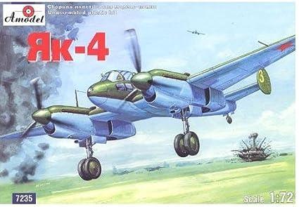 Amazon.com: yak-4 WW2 Soviética Bomber (Yakovlev diseño mesa ...