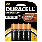 : Duracell Batteries / 4 AA - size batteries