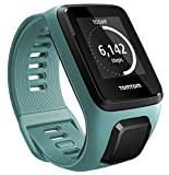 TomTom Spark 3, GPS Fitness Watch and Activity Tracker (Aqua, Small)