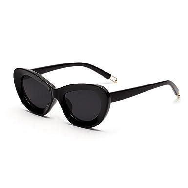 b29cdaaa8d5f Cinhent Mens Womens Small Frame Cat Eye Oval Retro Vintage Stylish  Sunglasses (A)
