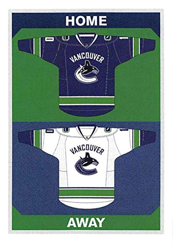 (2015-16 Panini Stickers #402 Canucks Home/Away Jerseys Vancouver Canucks)