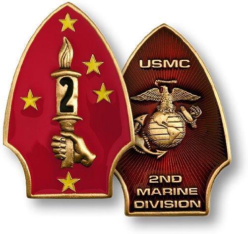 2nd Marine - Marine Challenge Coin Set