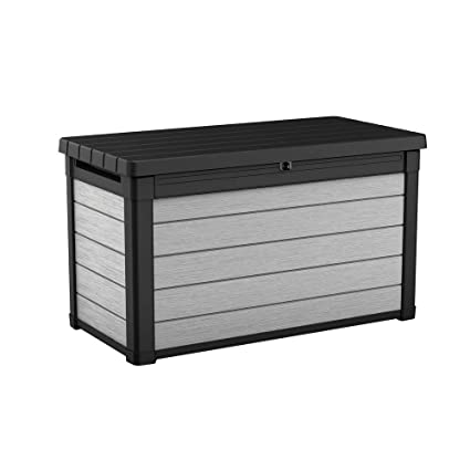 Awe Inspiring Pool Deck Storage Box And Bench Is 2 In 1 Multifunctional Patio Seat Resin Uv Protected 100 Gallon Pool And Yard Container For Cushions Table Covers Uwap Interior Chair Design Uwaporg