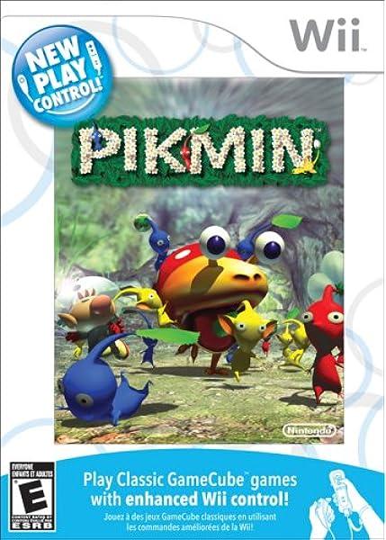 Amazon Com Pikmin New Play Control Nintendo Wii Video Games