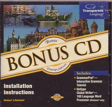 Bonus CD Language Learning Software by Transparent Language (Angel Post)