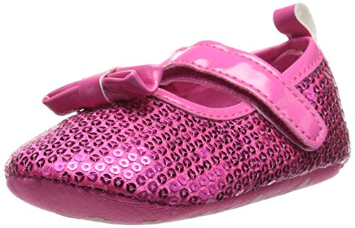 Laura Ashley LA24417 Mary Jane (Infant/Toddler), Fuchsia Patent, 3 M US Infant