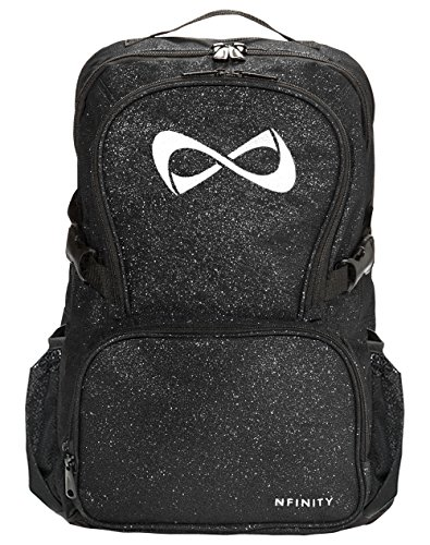 Nfinity Sparkle Backpack, Black/White Logo