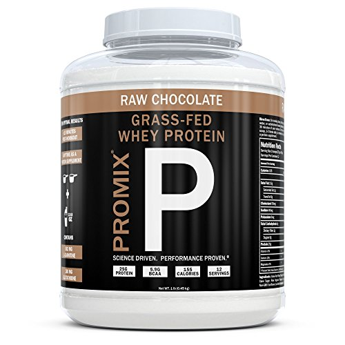 ProMix Nutrition Container of Chocolate Grass-Fed Whey Protein, 1 Pound