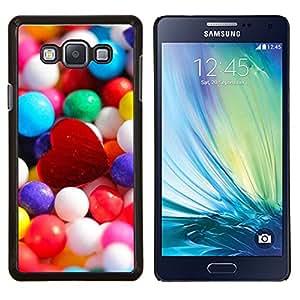 EJOOY---Cubierta de la caja de protección para la piel dura ** Samsung Galaxy A7 A7000 ** --Corazón de caramelo