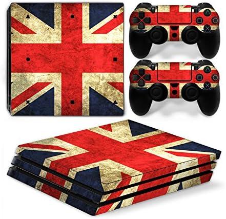 Funky Planet Playstation 4 Pro PS4 Pro Adhesivos para la Piel PVC para Consola y Almohadillas: rediseña tu PS4 Pro (England): Amazon.es: Hogar