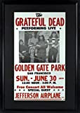 #8: Grateful Dead at Golden Gate Park Concert Poster (Framed)