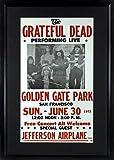 Grateful Dead at Golden Gate Park Concert Poster (Framed)